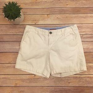 Merona white cotton shorts -Size 2